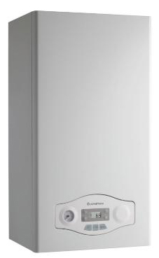 ARISTON EGIS PLUS 24 FF  de 24 KW con barra de conexiones y kit de evac.